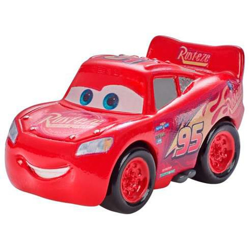 Disney Cars Die Cast Mini Racers Lightning McQueen Car [Regular Version Loose]