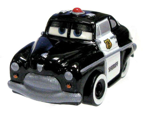 Disney Cars Die Cast Mini Racers Sheriff Car [Loose]