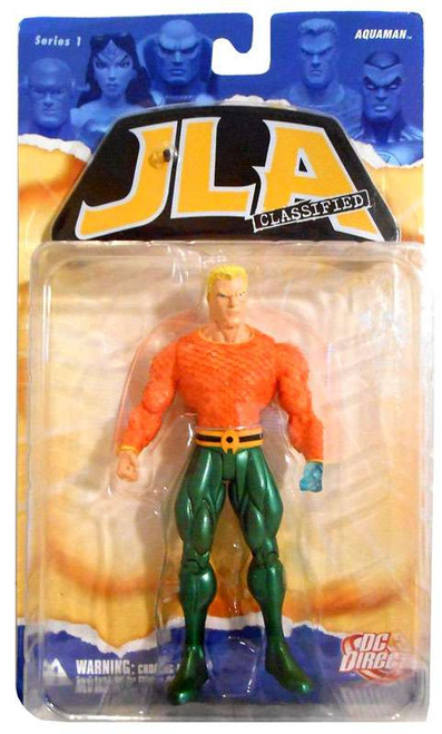 DC JLA Classified Series 1 Aquaman Action Figure [Damaged Package]