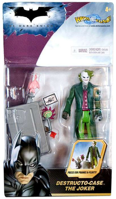 Batman The Dark Knight The Joker Action Figure [Destructo Case, Damaged Package]