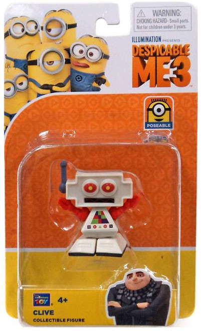 Despicable Me 3 Clive Action Figure