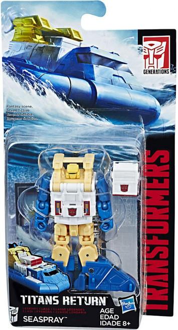 Transformers Generations Titans Return Seaspray Legend Action Figure