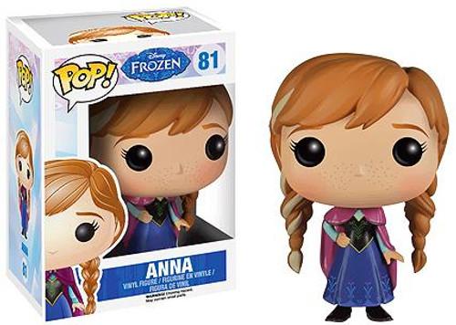 Funko Disney Frozen POP! Movies Anna Vinyl Figure #81 [Damaged Package]