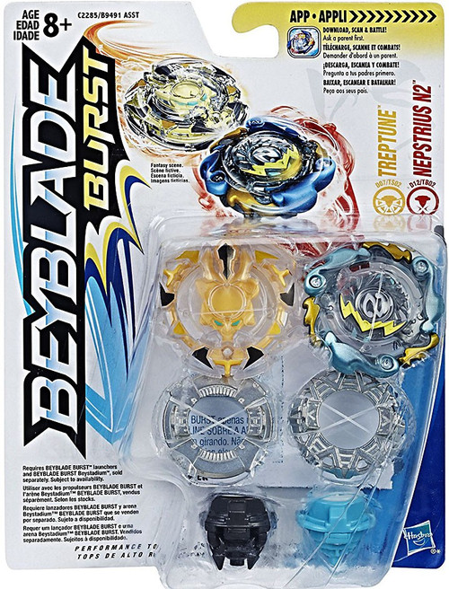 Beyblade Burst Treptune & Nepstrius N2 Dual Pack