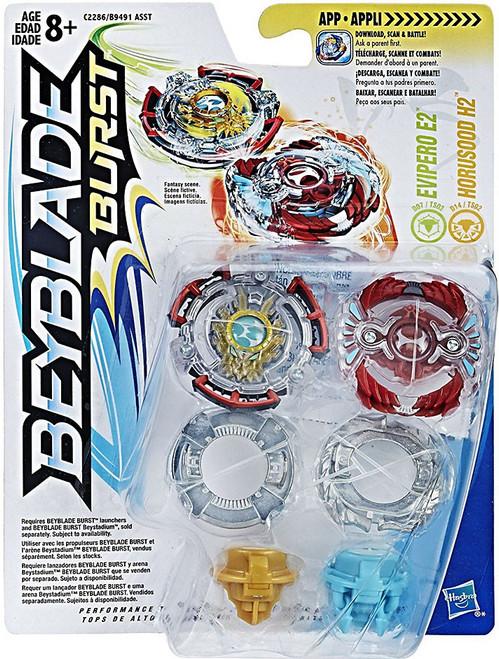 Beyblade Burst Evipero E2 & Horusood H2 Dual Pack