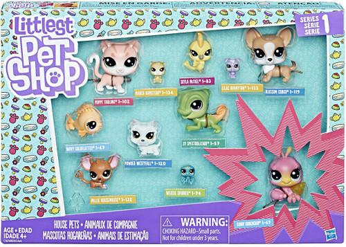Littlest Pet Shop Home Buddies Mini Figure 11-Pack
