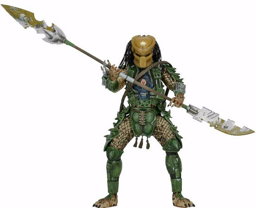 NECA Series 18 Broken Tusk Predator Dechande Action Figure [Ultimate Body]
