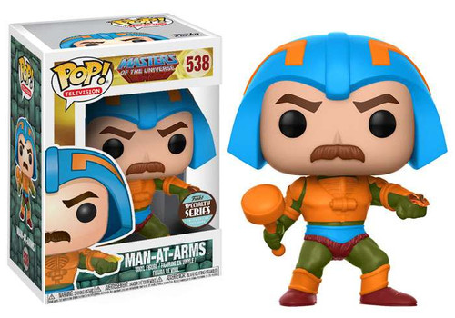 Funko Masters of the Universe POP! TV Man-At-Arms Exclusive Vinyl Figure #538 [Specialty Series]