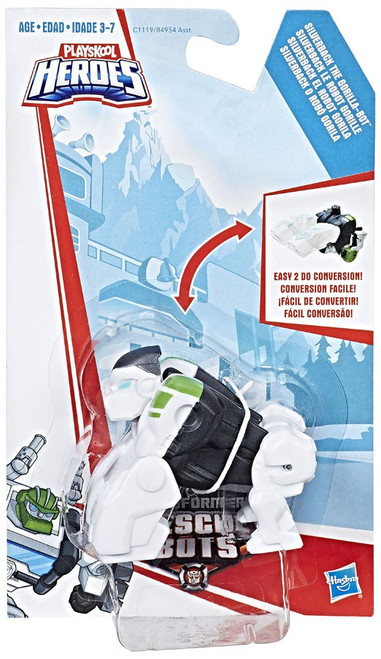 Transformers Playskool Heroes Rescue Bots Silverback the Gorilla Action Figure