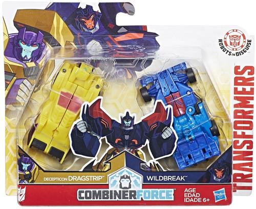 Transformers Robots in Disguise Dragstrip & Wildbreak Action Figure [Crash Combiner]