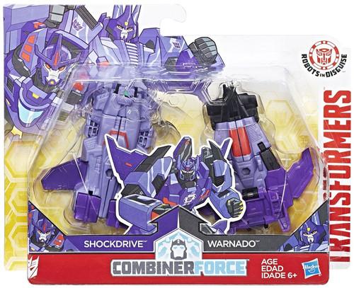 Transformers Robots in Disguise Shockdrive & Warnado Action Figure [Crash Combiner]