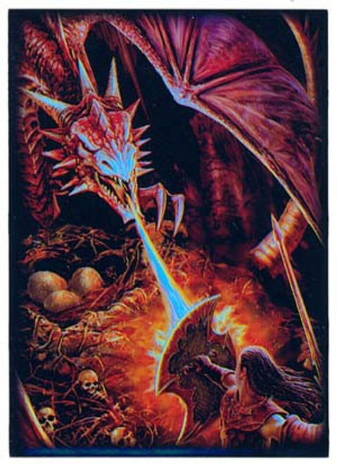 Card Supplies Dragon's Lair Fire Breathing Standard Card Sleeves [50 Count]