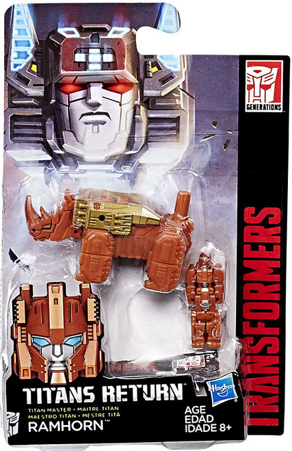 Transformers Generations Titans Return Ramhorn Action Figure