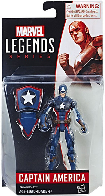 Marvel Legends 2017 Series 2 Captain America Action Figure [2017 Costume]