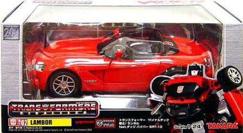 Transformers Japanese Binaltech Dodge Viper Lambor Action Figure BT-02 [Damaged Package]