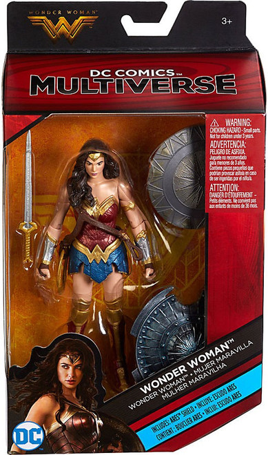 DC Multiverse Ares Series Wonder Woman Exclusive Action Figure [Ares Shield]