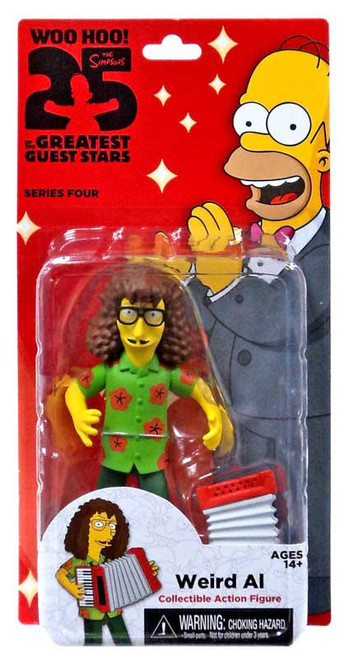The Simpsons Series 4 Weird Al Yankovic Action FIgure