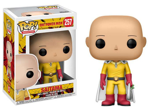 Funko One Punch Man POP! Animation Saitama Vinyl Figure #257
