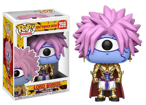 Funko One Punch Man POP! Animation Lord Boros Vinyl Figure #259