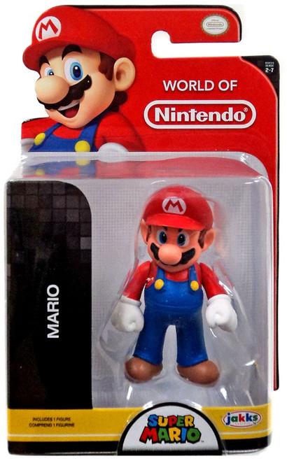 World of Nintendo Standing Mario 2.5-Inch Mini Figure