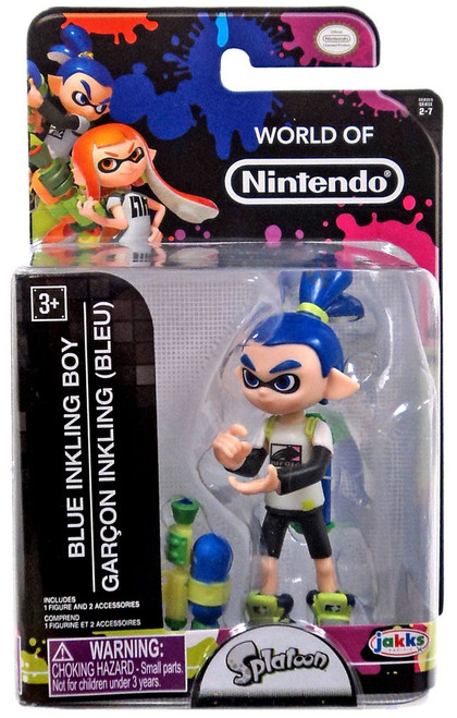 World of Nintendo Inkling Boy 2.5-Inch Mini Figure
