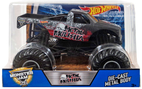 Hot Wheels Monster Jam Metal Mulisha Die-Cast Car