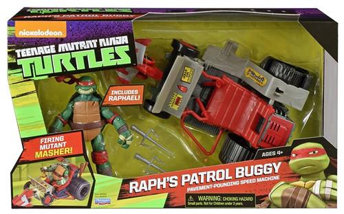 Teenage Mutant Ninja Turtles Nickelodeon Raph's Patrol Buggy Action Figure Vehicle [Includes Raphael]