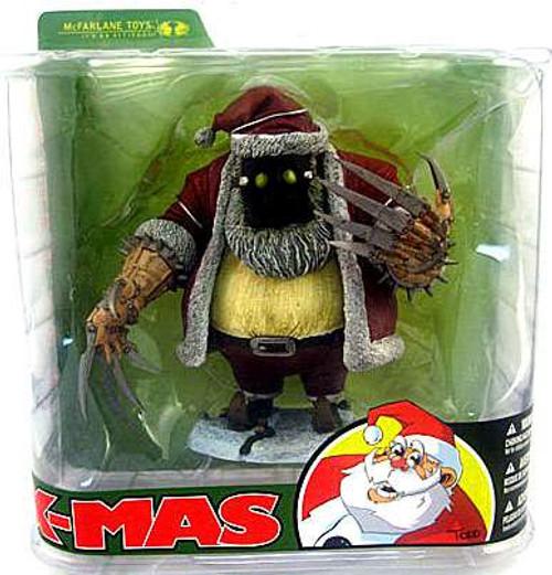 McFarlane Toys McFarlane's Monsters X-Mas Santa Claus Action Figure [Damaged Package]