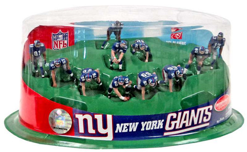 McFarlane Toys NFL Sports Picks Ultimate Team Sets New York Giants 2-Inch Team Set [Damaged Package]