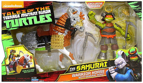 Teenage Mutant Ninja Turtles Tales of the TMNT The Samurai Warrior Horse with Samurai Mikey Action Figure