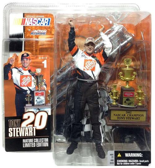McFarlane Toys NASCAR Tony Stewart Action Figure [Damaged Package]