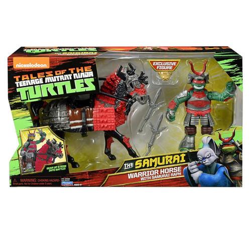 Teenage Mutant Ninja Turtles Tales of the TMNT The Samurai Warrior Horse with Samurai Raph Action Figure