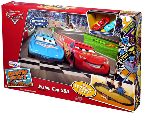 Disney / Pixar Cars Radiator Springs Classic Piston Cup 500 Exclusive Diecast Car Track Set