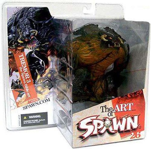 McFarlane Toys Series 26 The Art of Spawn Tremor 3 The Spawn Bible Action Figure [Damaged Package]
