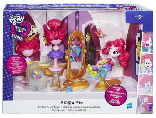 My Little Pony Equestria Girls Minis Pinkie Pie Switch-a-Do Salon Playset