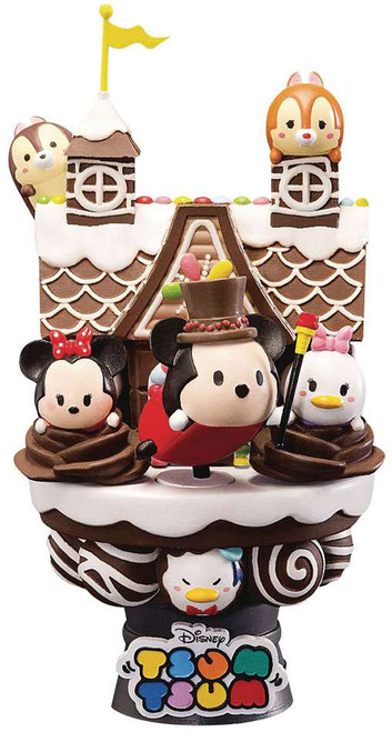 Disney D-Select Tsum Tsum Exclusive 6-Inch Diorama Statue DS-002