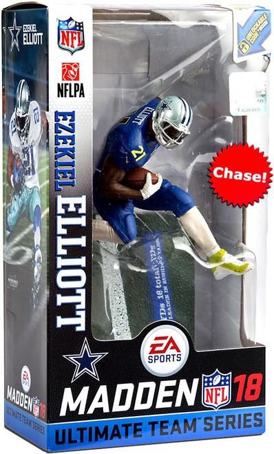 McFarlane Toys NFL Dallas Cowboys EA Sports Madden 18 Ultimate Team Series 2 Ezekiel Elliott Action Figure [Pro Bowl Jersey Chase Version]