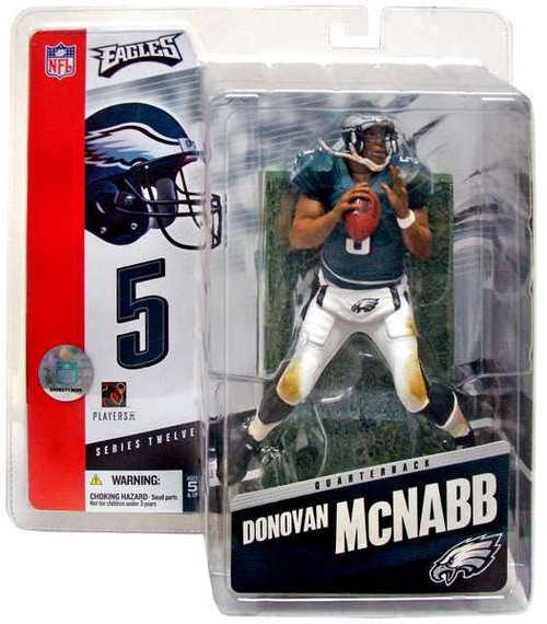 McFarlane Toys NFL Philadelphia Eagles Sports Picks Series 12 Donovan McNabb Action Figure [Damaged Package]