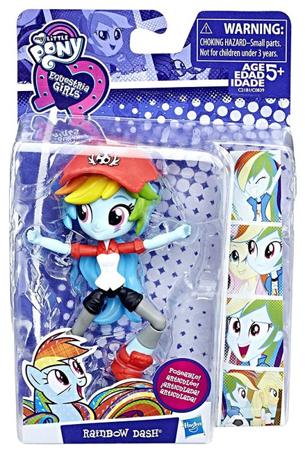 My Little Pony Equestria Girls Mall Collection Rainbow Dash 5'' Doll