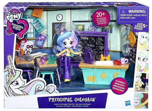My Little Pony Equestria Girls Minis Principal Celestia Playset