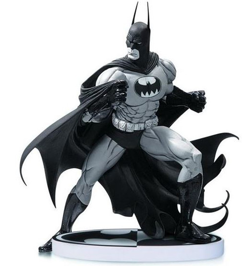 Black & White Batman 6.5-Inch Statue [Tim Sale 2nd Edition]