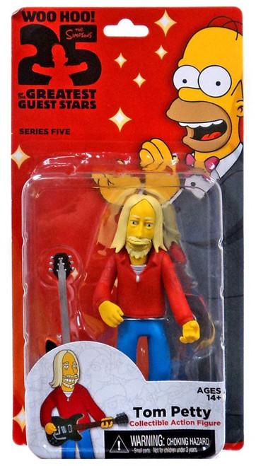 NECA The Simpsons Series 5 Tom Petty Action FIgure