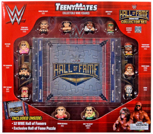 WWE Wrestling TeenyMates Hall of Fame Collector Set