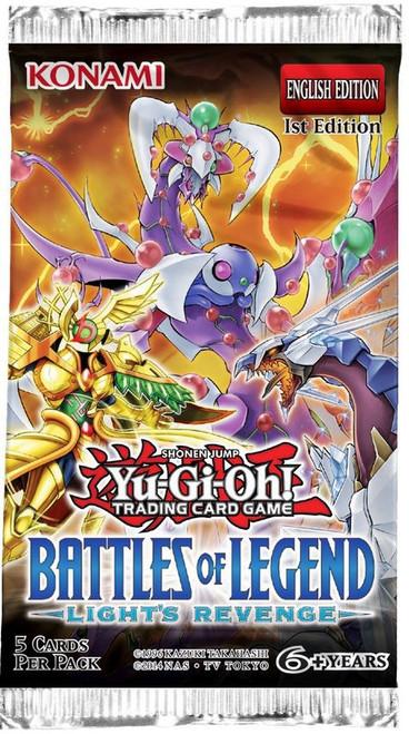 YuGiOh Trading Card Game Battles of Legend Light's Revenge Booster Pack