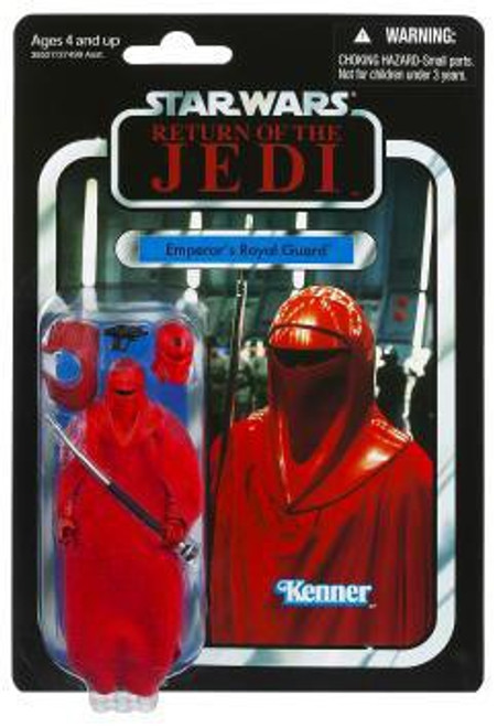 Star Wars Return of the Jedi 2012 Vintage Collection Emperor's Royal Guard Action Figure #105
