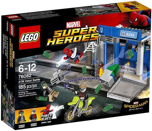 LEGO Marvel Super Heroes Spider-Man Homecoming ATM Heist Battle Set #76082