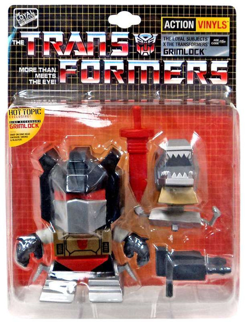 "Transformers Action Vinyls Grimlock Exclusive 5-Inch 5"" Vinyl Figure [Damaged Package]"