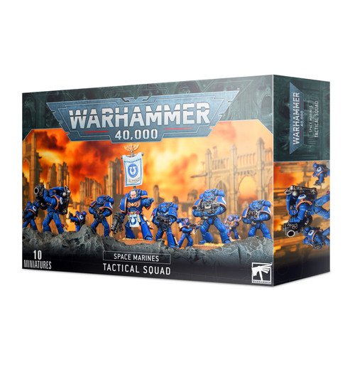 Warhammer 40,000 Space Marines Space Marine Tactical Squad
