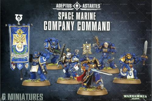 Warhammer 40,000 Space Marines Space Marine Company Command