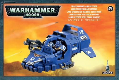 Warhammer 40,000 Space Marines Land Speeder